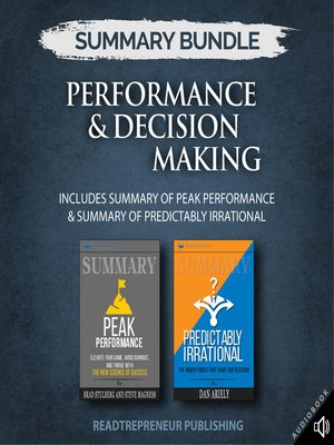 cover image of Summary Bundle: Performance & Decision Making
