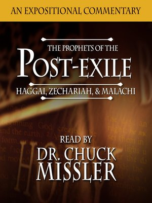 cover image of The Prophets of the Post Exile