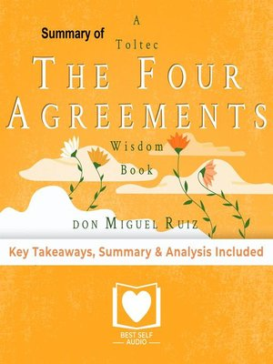 cover image of The Four Agreements by Don Miguel Ruiz Summary