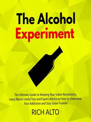 cover image of The Alcohol Experiment
