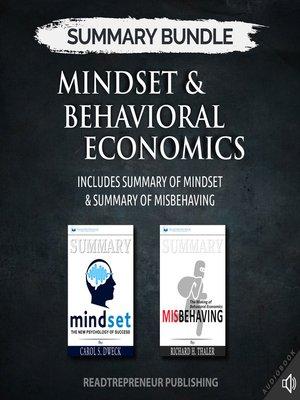 cover image of Summary Bundle: Mindset & Behavioral Economics