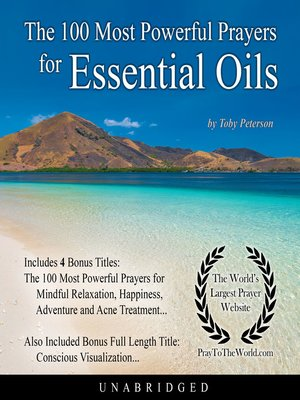 cover image of The 100 Most Powerful Prayers for Essential Oils