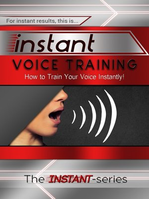 cover image of Instant Voice Training