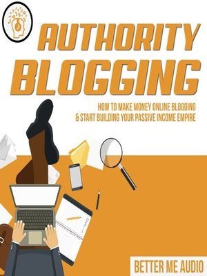 cover image of Authority Blogging