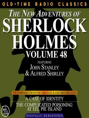 cover image of The New Adventures of Sherlock Holmes, Volume 48, Episode 1