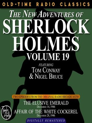 cover image of The New Adventures of Sherlock Holmes, Volume 19, Episode 1