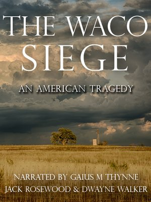 cover image of The Waco Siege