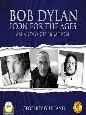 cover image of Bob Dylan: Icon for the Ages