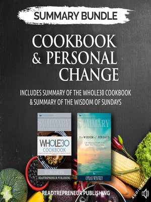 cover image of Summary Bundle: Cookbook & Personal Change