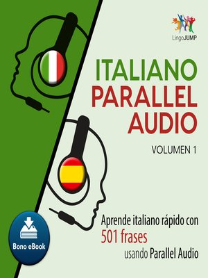 cover image of Aprende italiano rpido con 501 frases usando Parallel Audio - Volumen 1