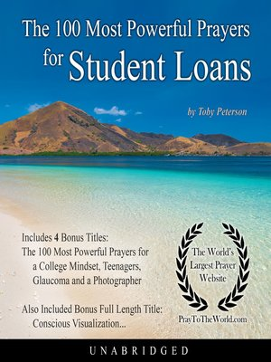cover image of The 100 Most Powerful Prayers for Student Loans