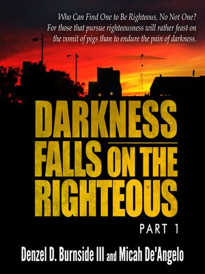 cover image of Darkness Falls on the Righteous