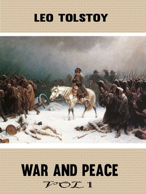 cover image of War and Peace, Volume 1