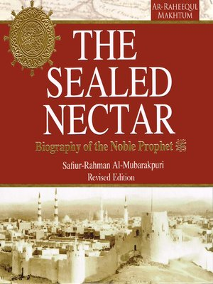 cover image of The Sealed Nectar