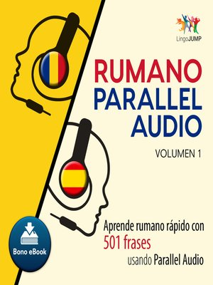 cover image of Aprende rumano rpido con 501 frases usando Parallel Audio - Volumen 1