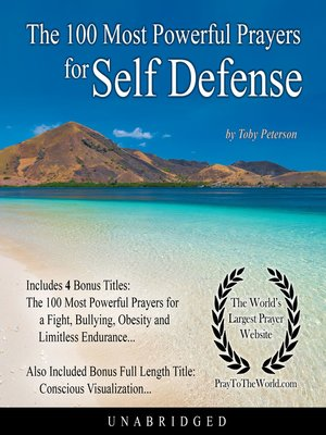 cover image of The 100 Most Powerful Prayers for Self Defense