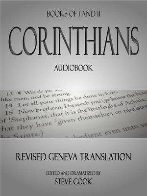 cover image of Books of I&II Corinthians Audiobook
