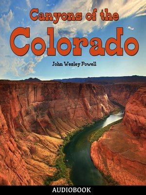 cover image of Canyons of the Colorado