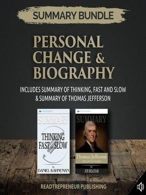 cover image of Summary Bundle: Personal Change & Biography