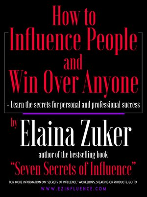 cover image of How to Influence People and Win Over Anyone