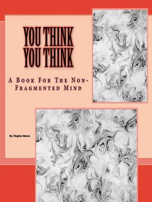 cover image of You Think You Think