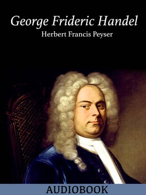 cover image of George Frideric Handel