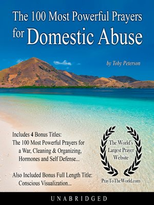 cover image of The 100 Most Powerful Prayers for Domestic Abuse