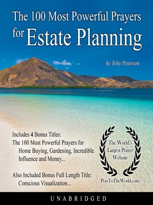 cover image of The 100 Most Powerful Prayers for Estate Planning