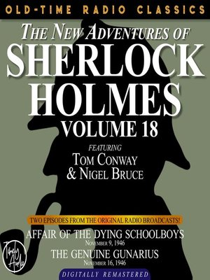 cover image of The New Adventures of Sherlock Holmes, Volume 18, Episode 1