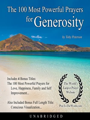 cover image of The 100 Most Powerful Prayers for Generosity