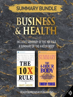 cover image of Summary Bundle: Business & Health