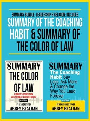 cover image of Summary Bundle: Leadership & Religion