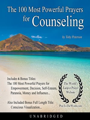 cover image of The 100 Most Powerful Prayers for Counseling