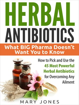 cover image of Herbal Antibiotics