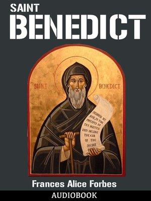 cover image of Saint Benedict