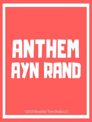 cover image of Anthem
