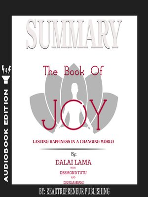 cover image of Summary of The Book of Joy: Lasting Happiness in a Changing World by Dalai Lama & Desmond Tutu