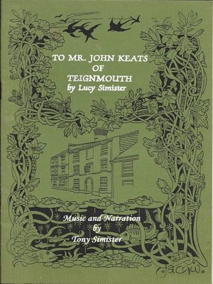 cover image of To Mr. John Keats of Teignmouth