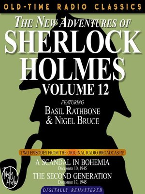cover image of The New Adventures of Sherlock Holmes, Volume 12, Episode 1