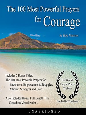 cover image of The 100 Most Powerful Prayers for Courage