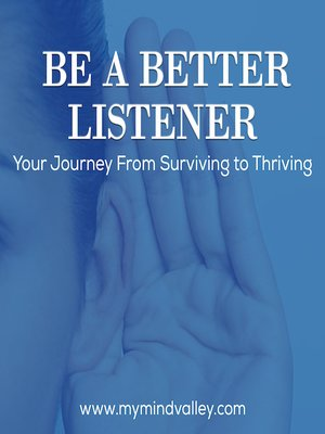 cover image of Be a Better Listener