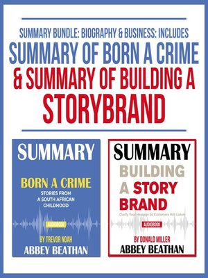 cover image of Summary Bundle: Biography & Business