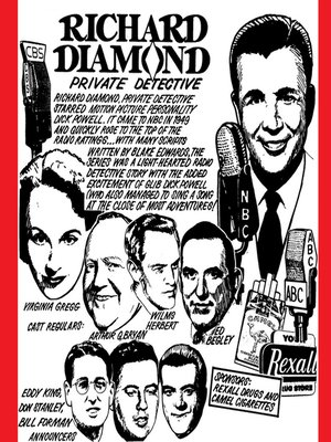 cover image of Richard Diamond, Private Detective