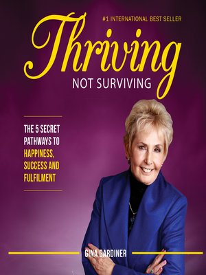 cover image of Thriving Not Surviving