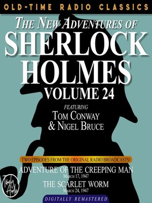 cover image of The New Adventures of Sherlock Holmes, Volume 24, Episode 1