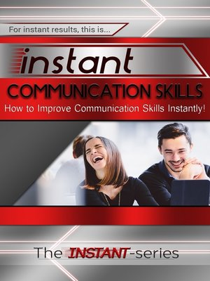 cover image of Instant Communication Skills