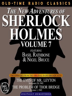 cover image of The New Adventures of Sherlock Holmes, Volume 7, Episode 1