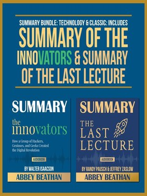 cover image of Summary Bundle: Technology & Classic