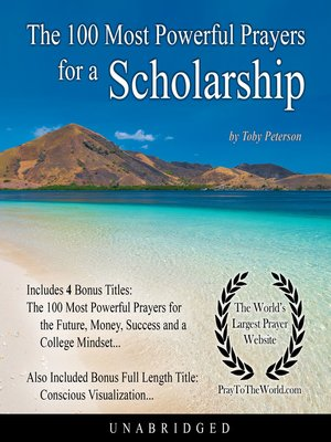 cover image of The 100 Most Powerful Prayers for a Scholarship