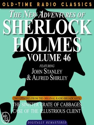 cover image of The New Adventures of Sherlock Holmes, Volume 46, Episode 1